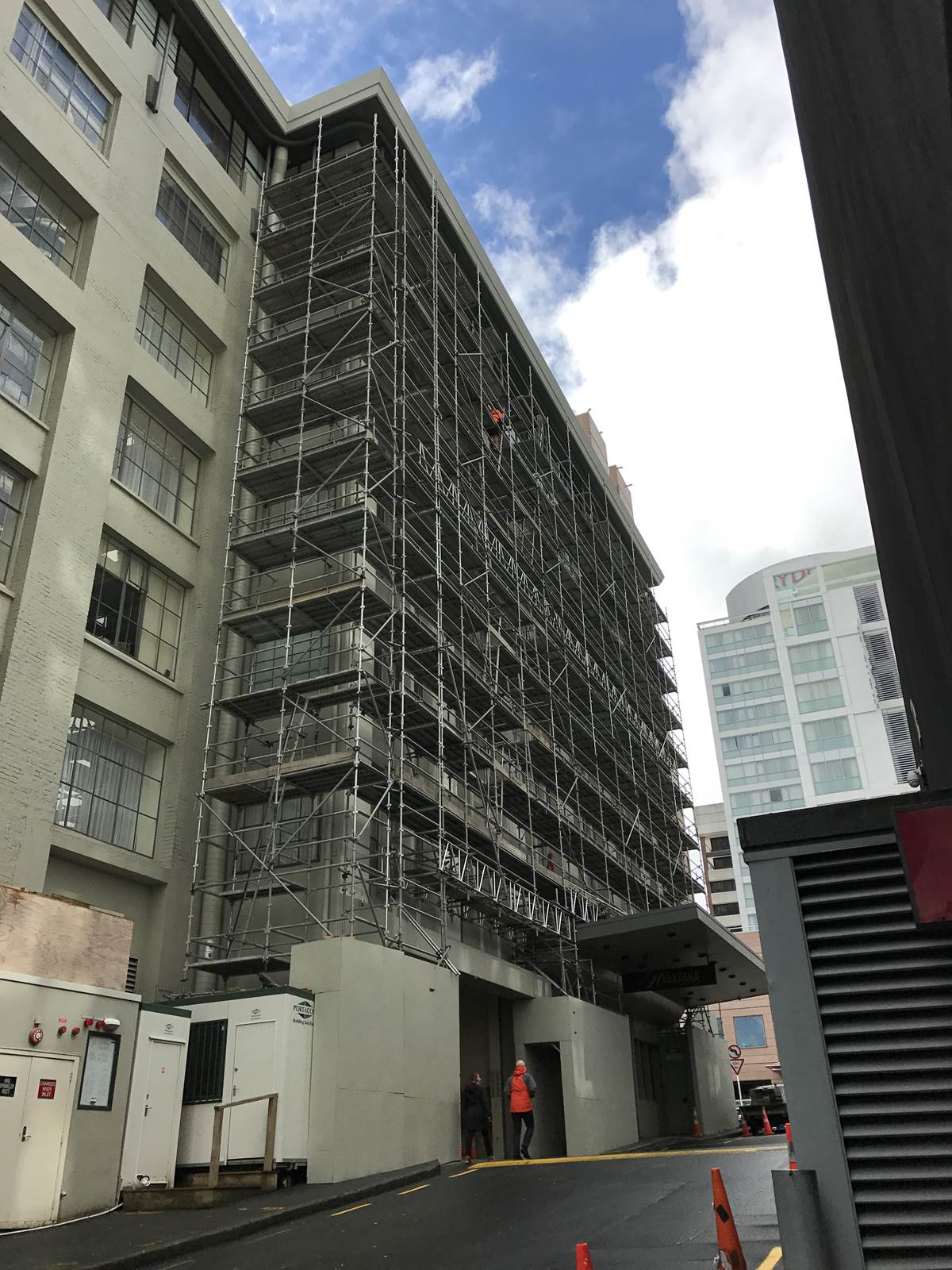 Commercial - Industrial Scaffolding Waikato