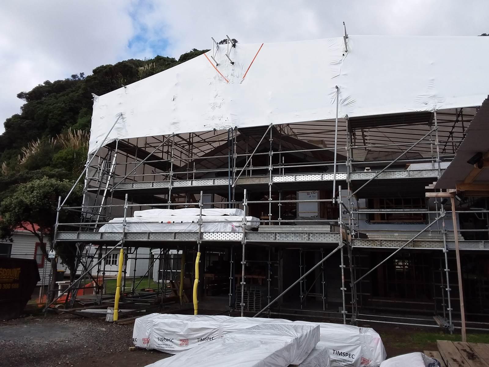 Residential Scaffolding Hamilton Waikato. Summit Scaffolding Waikato